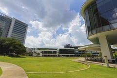 Nationellt universitet av Singapore (NUS) Royaltyfria Foton