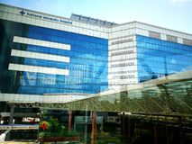 Nationellt universitetsjukhus av Singapore Royaltyfria Foton