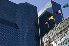 Nationen, die NYC aufbauen Stockbild