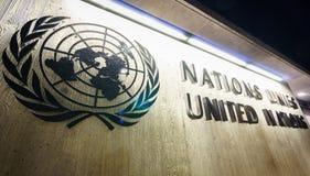 Nationen in Genf Stockbilder