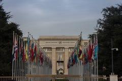 Nationen in Genf Stockbild