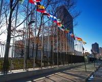 Nationen-Hauptsitz in NYC Stockfoto