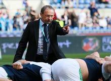NATIONEN 2014 RBS 6 - ITALIEN gegen SCHOTTLAND; JACQUES-BR Lizenzfreie Stockfotografie