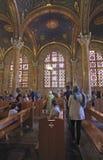 Nationerna för kyrka allra i den Gethsemane trädgården israel Arkivfoto