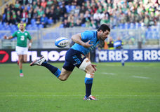 NATIONS 2015 DE RBS 6 ; L'ITALIE - L'IRLANDE, 3-26 Photographie stock