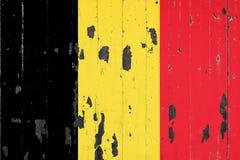 Nationsflagga av Belgien på bakgrunden royaltyfri illustrationer