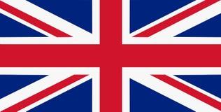 Nationsflagga av Förenade kungariket bakgrund för redaktörer och formgivare Nationell ferie stock illustrationer