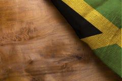 Nationsflagga av Jamaica Royaltyfri Bild
