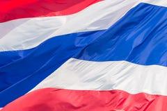 Nationsflagga av Thailand Royaltyfri Bild