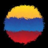 Nationsflagga av Venezuela Arkivbild