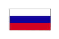 Nationsflagga Ryssland Arkivbild