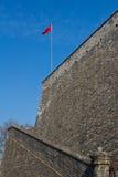Nationsflaggan av Kina Royaltyfri Fotografi