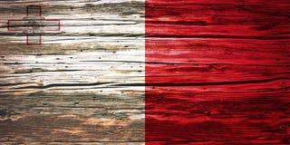 Nationsflaggor träbakgrund, textur Royaltyfri Foto