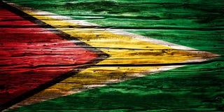 Nationsflaggor träbakgrund, textur Arkivbilder