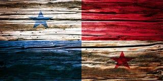 Nationsflaggor träbakgrund, textur Arkivfoton