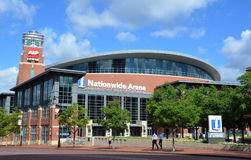 Nationwide Arena in Columbus, OH stock photos