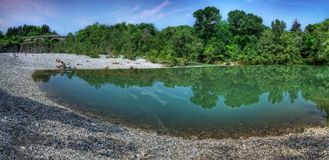 Natisine do rio Fotografia de Stock Royalty Free