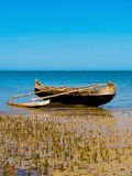 Nativ Fishing boat coast of madagascar Royalty Free Stock Photos