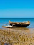 Nativ Fishing boat coast of madagascar Royalty Free Stock Photos