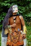 Native american. Tlingit indian in alaska,three quarter shot Stock Photography
