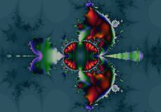 Native American Abstract Fractal Stock Image