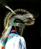 Native American Boy Stock Photo