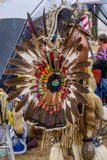 Native American Ceremonial Dress Stock Image