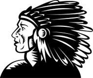 Native american chief headdress Royalty Free Stock Photography