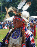 Native American chief Seattle Pow Wow Royalty Free Stock Photos