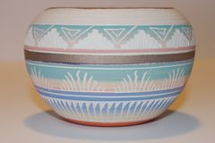 Native American Clay Bowl royalty free stock images