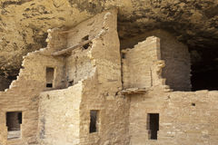 Native american cliff dwelling. Spruce Tree House, Mesa Verde National Park Stock Photo