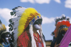 A Native American at the Corn Dance Stock Photography