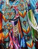 Native american costume Stock Photo