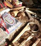 Native American crafts. Royalty Free Stock Photo