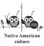 Native American culture Stock Image
