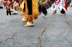 Native American Dance. Native American male dancers at pow-wow Stock Images