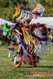 Native American Dancer Stock Image
