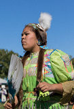 Native American Dancer at a Pow-Wow Stock Photo