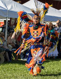 Native American Dancer at a Pow-Wow Stock Photography