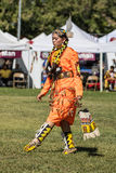 Native American Dancer at a Pow-Wow Royalty Free Stock Images