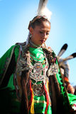 Native American Dancers Royalty Free Stock Images
