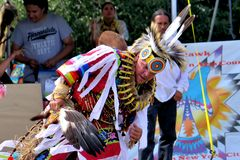 Native American dancers Royalty Free Stock Image
