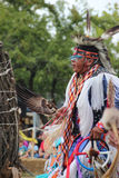 Native American Dancers at pow-wow Stock Images