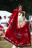 Native American Dancers at pow-wow Royalty Free Stock Photos