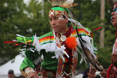 Native American Dancers at pow-wow Royalty Free Stock Photography