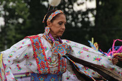 Native American Dancers at pow-wow Stock Photo