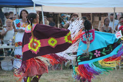 Native American Dancers at pow-wow Stock Photos