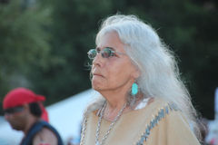 Native American Dancers at pow-wow Stock Photography