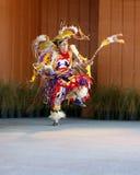 Native American Dancing 4. A Native American man doing a tribal dance Stock Image