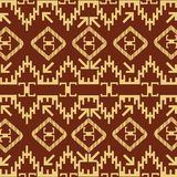 Native American decorative motives Stock Images